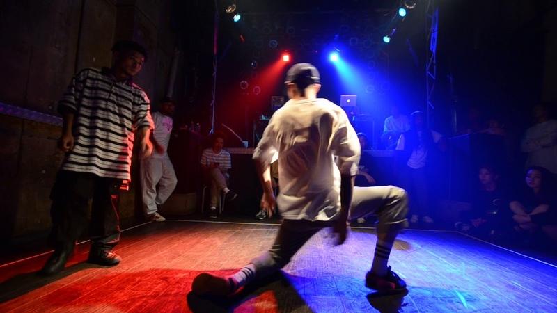 AKIRA [Island Form] vs TAA [DONUTS] Semifinal '18.6/8『THE CROWN 2018』vol.3 MALE   Danceproject.info