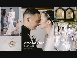 Tiago & Alina (wedding video. Portugal, Lisboa)