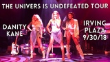Danity Kane The Universe is Undefeated Tour Irving Plaza