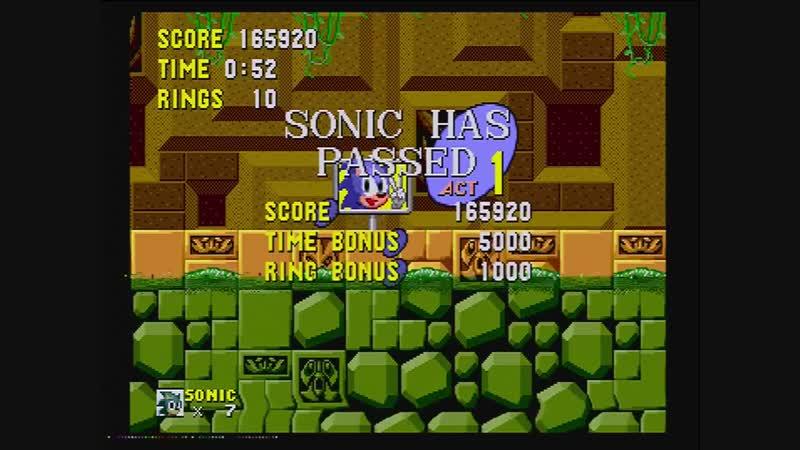 Sonic 1 Glitchless.100% RTA