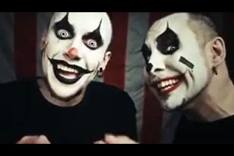Как сделать грим в домашних условиях клоуна