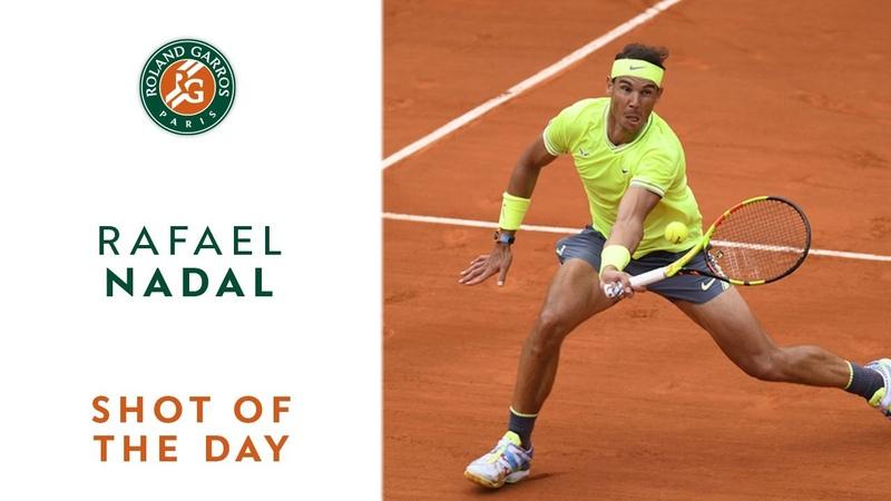 Shot of the Day 13 - Rafael Nadal | Roland-Garros 2019