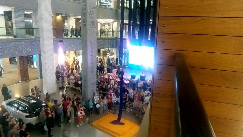 выступление гимнастки трк Небо НН