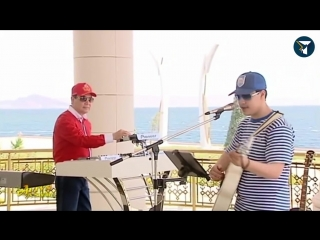 Президент Туркменистана зачитал рэп вместе с внуком [NR]