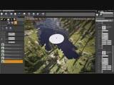 Maverick Speed Level Design - Procedural Coniferous Forest - Unreal Engine 4 and World Machine 2