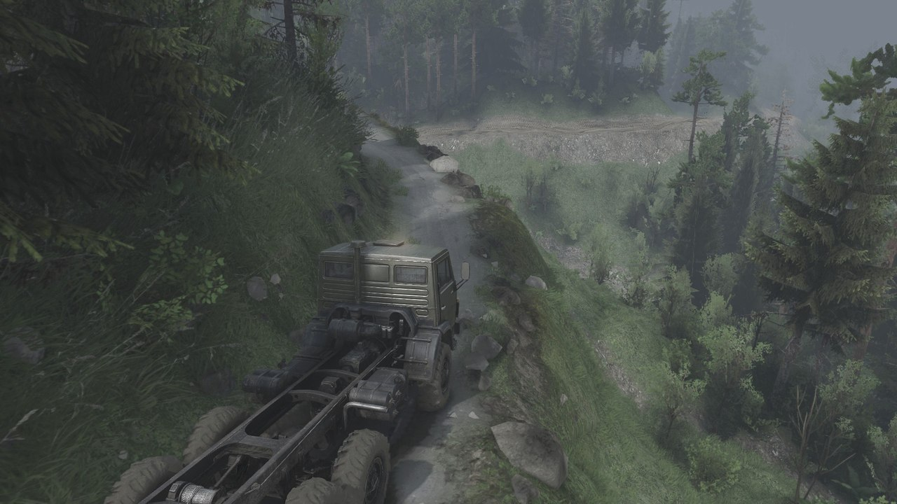 Blackwater Canyon для 25.12.15 для Spintires - Скриншот 1