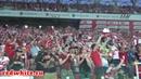 Обзор красно-белых трибун на матче Спартак - Анжи
