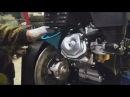 Замена масла в двигателе мотобуксировщика Бурлак-М