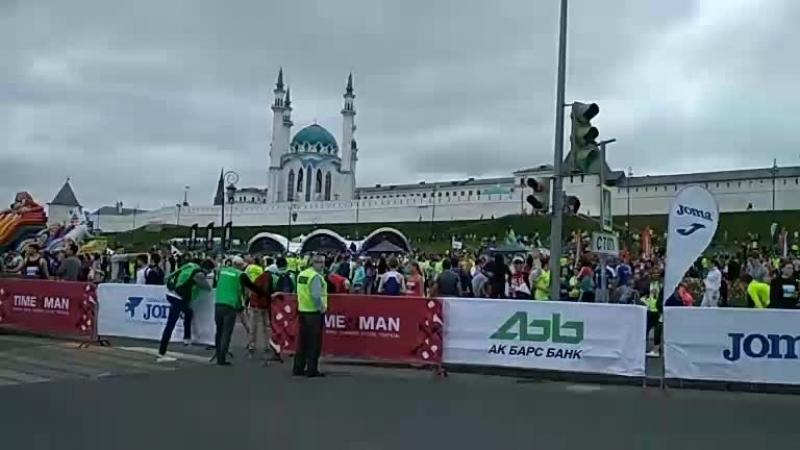 казанский марафон перед стартом