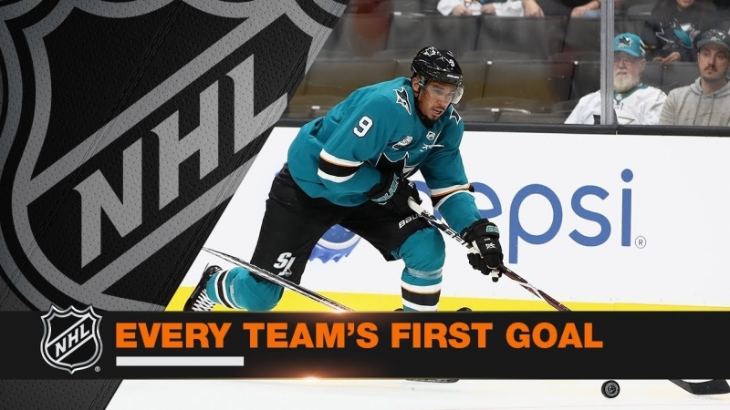 Every Team's First Goal of the 2018-19 Season