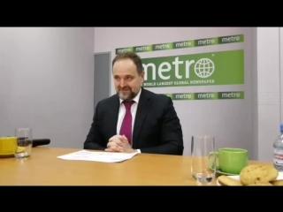 В гостях у Metro-Москва глава Минприроды Сергей Донской
