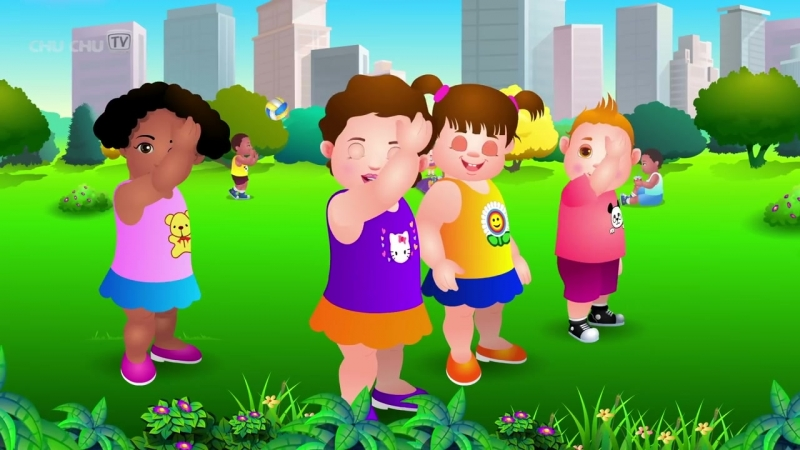 Head, Shoulders, Knees Toes - Exercise Song For Kids