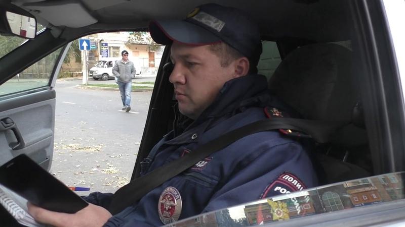 ГИБДД ОрскоеБатанин и Петин нарушает ПДД 17.10.2018г.