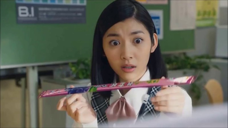 Реклама японской жвачки