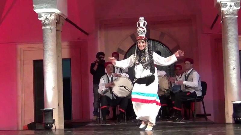 Danse tunisie solo la jarre