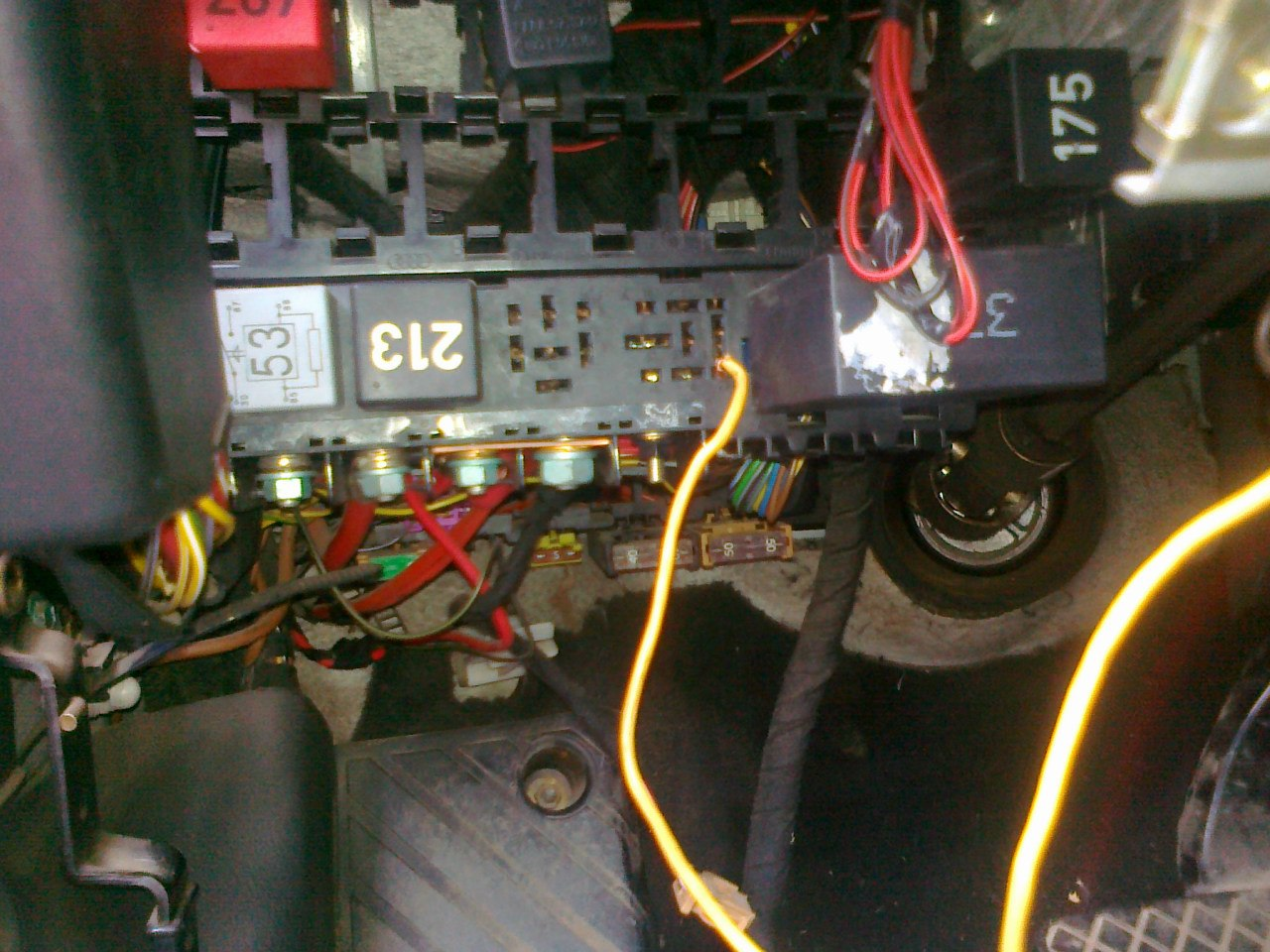 audi a6 постоянно работает вентилятор охлаждения