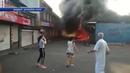 173 пожара за неделю ликвидировали пожарные службы МЧС ДНР