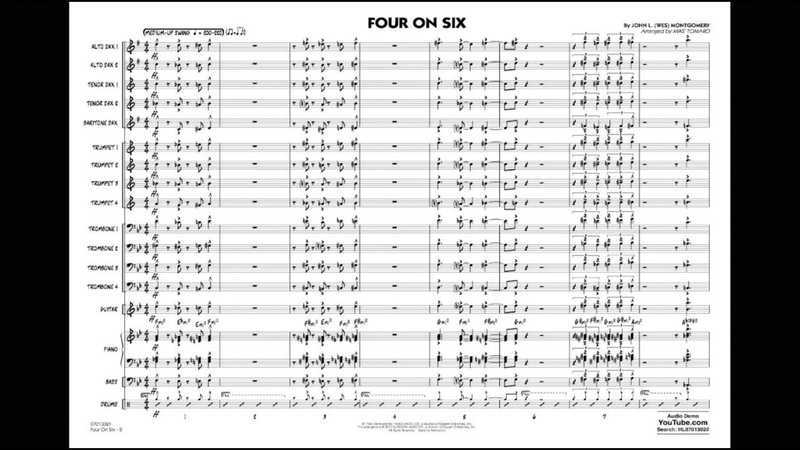 Four on Six by John L. Wes Montgomeryarr. Mike Tomaro
