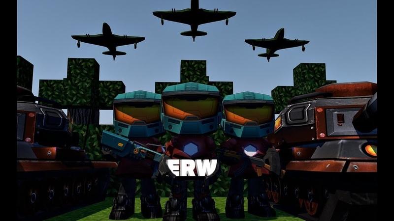 Кубезумие 2 3D FPS FRAG MOVIE ERW