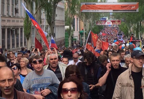 В Украине нет гражданской войны, а есть запуганное мирное население Донецкой области, - депутат - Цензор.НЕТ 9062