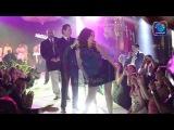 بالفيديو شاهد الراقصة دينا ترقص بفستان قص&#16