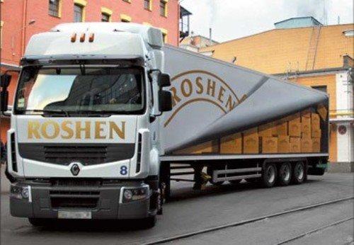 украинские конфеты Roshen