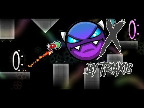 X (EASY DEMON) by TriaXis | Geometry Dash 2.11