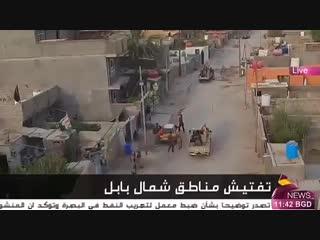 قوات الحشد_الشعبي اللواء ٤٢ عصائب ينفذ عمليات استباقية في شمال بابل لتأمين زيارة_الاربعين