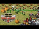 Red Alert 2 Halloween Jack o' lantern pumpkin in Extra Small map Online Multiplayer