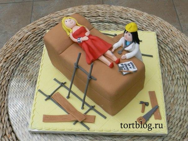 Торт для мединских работников