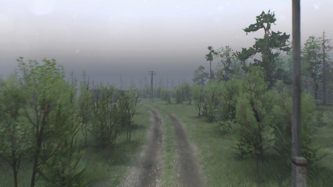 """Карта """"Долгая дорога"""" для 25.12.15 для Spintires - Скриншот 3"""
