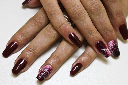 Видео наращивания и дизайна ногтей