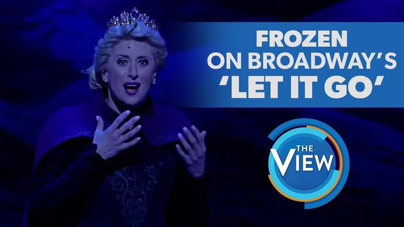 Frozen The Broadway Musicals Caissie Levy Performs Let It Go