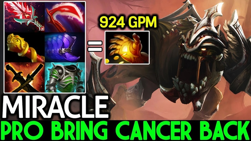 Miracle- [Lifestealer] Pro Player Bring Cancer is Back 7.20 Dota 2