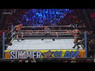 (WWEWM) Брок Леснар пр. СМ Панк (18.08.2013, SummerSlam)