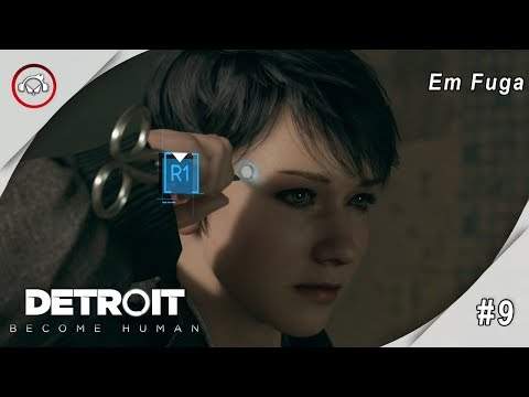 Detroit Become Human Em Fuga Gameplay 9 PT-BR
