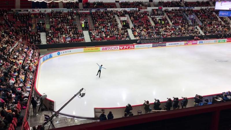 Yuzuru Hanyu, Helsinki GP 2018, short program 106.69, 3.11.2018 (new world record)