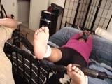 Tickle big feet