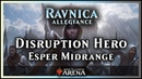 Disruption Hero, an Esper Midrange Deck | Ravnica Allegiance Standard - Magic / Arena
