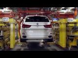 BMW X5 и X6 - Производство в Южной Каролине - Сборка