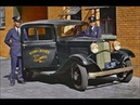 33 Amazing Colorized Photos of American Police Cars From Between the 1920s and 1950s