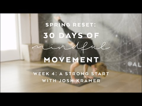 DAY 28: High-Intensity Arms Core with Josh Kramer - Spring Reset: 30 Days of Mindful Movement
