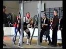 Юрий Чакур. Приседание. 300 кг в в/к до 90 кг на ЧРБ-1999.