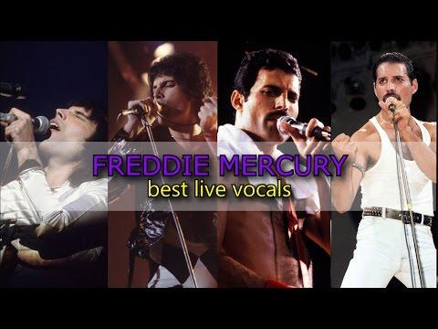 Freddie Mercury II Best Live Vocals (1974 - 1986)
