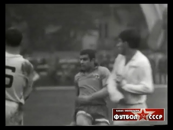 1968 Динамо (Тбилиси) - Зенит (Ленинград) 1-0 Чемпионат СССР по футболу