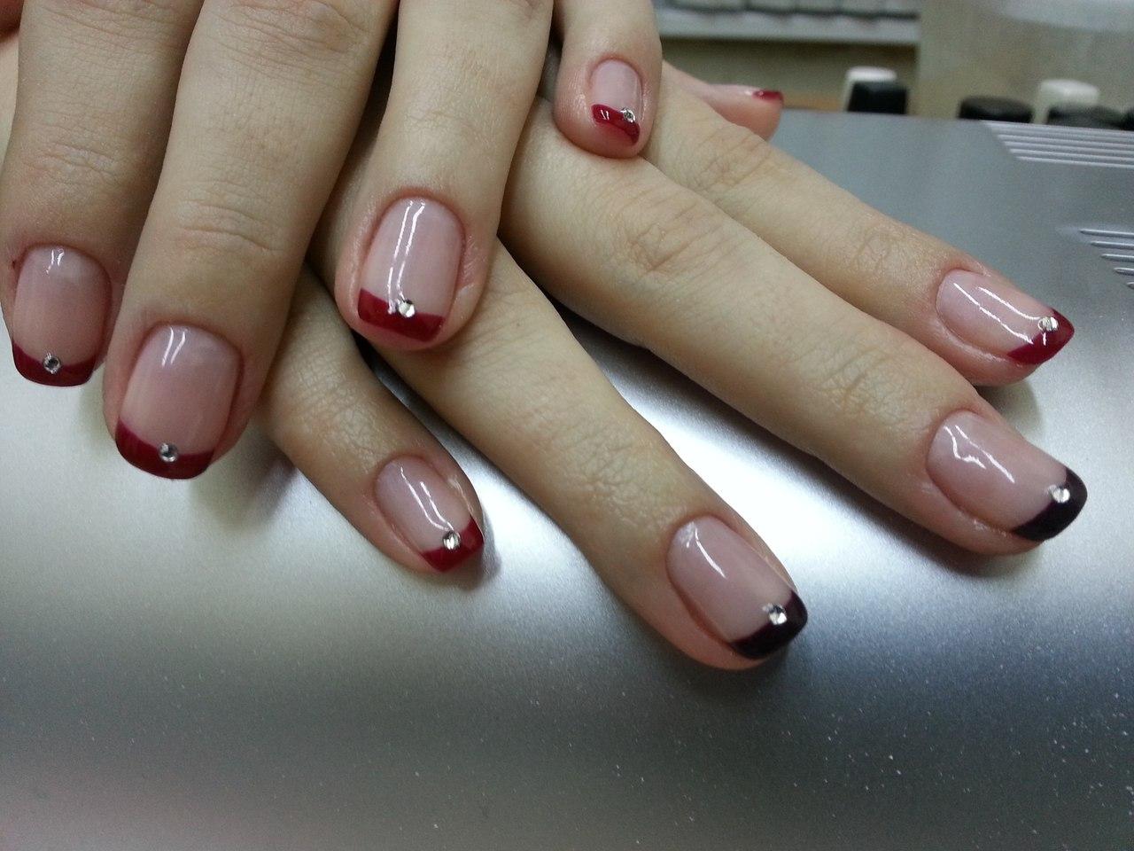 Красивое покрытие ногтей фото