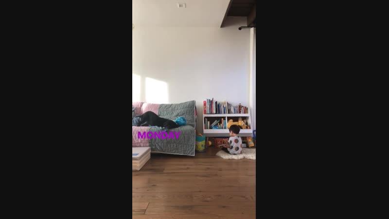 Joana Pak, partilhando esse vídeo do Jude.