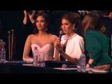 Меган Янг и Габриэла Ислер на Мисс Россия 2014