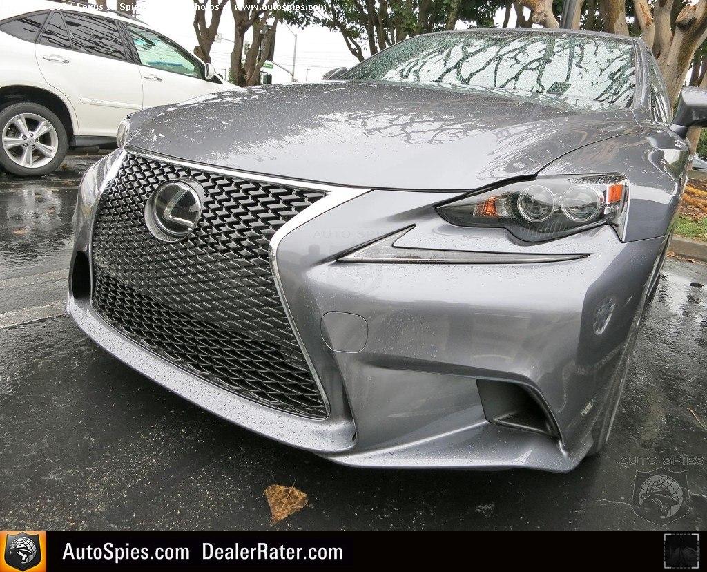 Front bumper Lexus IS 2014