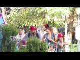 Jessica Alba enjoys a day at Disneyland with family and friends